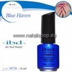 IBD nail lacquer frozen blue haven - 14 ml.